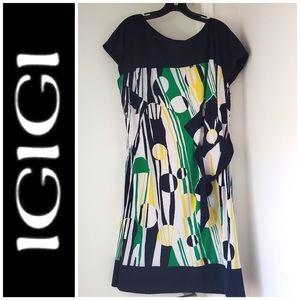 Vintage plus size Igigi dress. Size 14